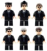 Reservoir Dogs Full Set - Custom Designed Mminifigures